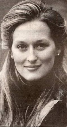 Meryl Streep. Favorite actress of all time!