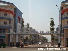 Bán nhà phố thương mại 2 mặt tiền Uni-town thành phố mới Bình Dương -