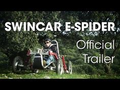 Swincar E-Spider - YouTube On my gosh!  How FUN!!  And think of the applications that this could have for 'off road wheel-chairs!!'  https://www.youtube.com/watch?v=xdM5yCBy0jY