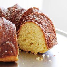 Sicilian Citrus Ricotta Bundt Cake - Fraiche Nutrition