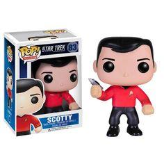 Star Trek POP! Vinyl Figur Scotty 10 cm  Star Trek - Hadesflamme - Merchandise - Onlineshop für alles was das (Fan) Herz begehrt!