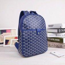 Goyard Backpack 8990 Blue