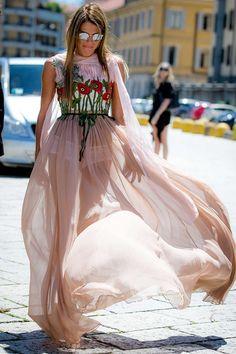 Anna Dello Russo in Gucci