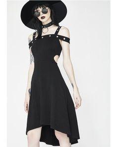Grommet Hi Lo Dress