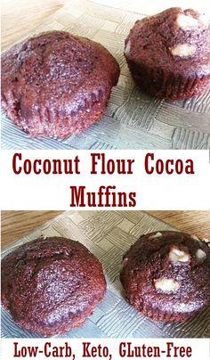 Coconut Flour Cocoa Muffins