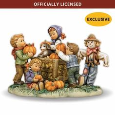 M.i. Hummel Figurine - Happy Harvest