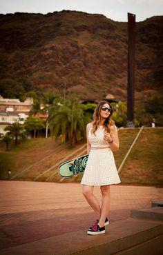 Look da Lu: saia skater