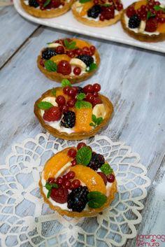 7gramas de ternura: Tarteletes de Fruta e Creme de Queijo e 4 Anos de Blog!
