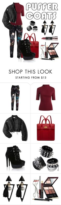 """""""Untitled #334"""" by mayaroger ❤ liked on Polyvore featuring Dolce&Gabbana, 3.1 Phillip Lim, Mulberry, Kevyn Aucoin and Anastasia Beverly Hills"""