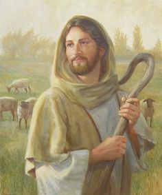 Premium Thick-Wrap Canvas entitled Looking For The One. Jesus Christ as a shepherd in a field, holding a crook. Our proprietary canvas provides a classic and distinctive texture. It is acid free and specially developed for our giclee print platforms. Jesus Christ Painting, Jesus Art, Pictures Of Christ, Jesus Christ Images, Christian Images, Christian Art, Canvas Wall Art, Wall Art Prints, Poster Prints