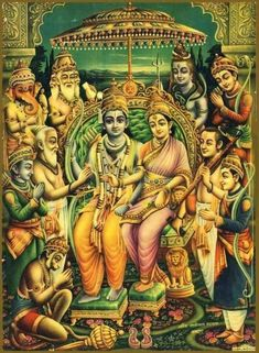 MY SUBMISSION : The holy Ramayana, a masterpiece in Sanskrit classics of the great sage Valmiki, the Adi-kavi, is the f. Shri Ram Photo, Ram Hanuman, Rama Sita, Lord Rama Images, Sita Ram, Hanuman Images, Sri Rama, Lord Vishnu Wallpapers, Lord Murugan