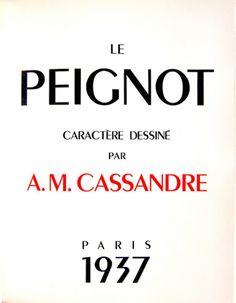 Cassandre Peignot