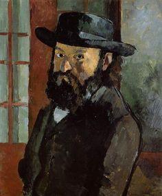 Paul Cezanne, self-portrait, 1882