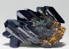"Azurite has been called the ""Stone of Heaven"" aiding in the ""pursuit  of the heavenly self"". Third Eye Chakra stone, awakening psychic abilities and helping the user to  recognize intuition and spiritual guidance when it occurs.  In Ancient Egypt Azurite was considered a magic stone, that served to increase spiritual powers."
