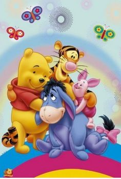 Winnie the pooh and friends coloring for kids: Winnie the pooh coloring book for young kids aged Great images of winnie and his friends from 100 acre wood. K W Books 1530769051 9781530769056 Winnie the poo