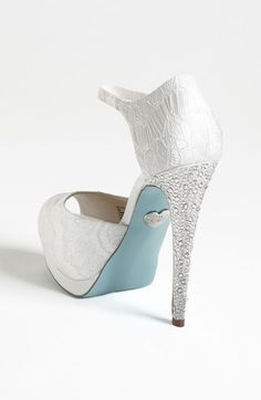 Blue by Betsey Johnson 'Veil' Sandal