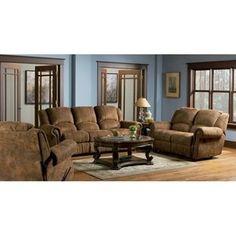 Wildon Home Scottsdale 3 Piece Reclining Living Room Set