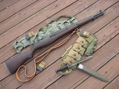 At the beginning of the war, nearly every infantryman in every major army was armed with a bolt action rifle. They were accurate and reliable, but they required that after every shot the soldier manually remove the spent shell casing and reload the weapon by manipulating a bolt.