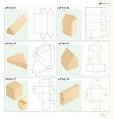 как сделать коробку из картона своими руками схема с крышкой: 19 тыс изображений… #Упаковка #Поделки #Подарки