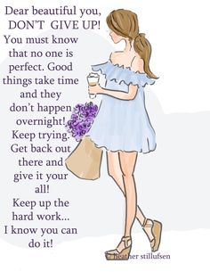 Wall Art for Women Dont Give Up Good by RoseHillDesignStudio