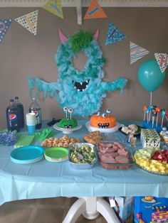 Monster party this would also make a cute photo booth idea