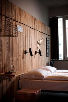 A twin room at Generator Berlin Mitte