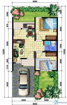 Denah Rumah Minimalis Sehat