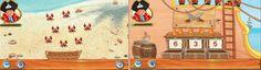 """App der Woche für iPhone, iPad und iPod Touch """"Lernerfolg Vorschule – Capt´n Sharky – Erste Zahlen (von Tivola Publishing GmbH)"""""""