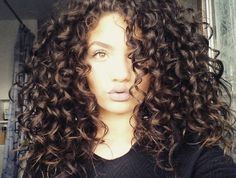 curls - 28 images - my time morning curly hair routine 3b Curly Hair, Curly Hair Styles, Natural Hair Styles, Love Hair, Big Hair, Pretty Hairstyles, Hair Hacks, Hair Goals, Hair Inspiration