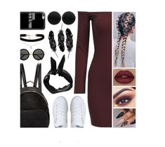 """""""Babe"""" by itsatra ❤ liked on Polyvore featuring STELLA McCARTNEY, adidas, ASOS, Casetify, The Row, Boohoo, Thomas Sabo, casual, love and ItsAtra"""