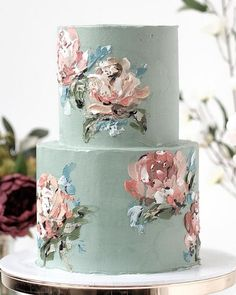 2019 Wedding Trends: What's Hot for 2019 - Wedding Cakes - Gateau Cute Cakes, Pretty Cakes, Beautiful Cakes, Amazing Cakes, Bolo Floral, Floral Cake, Wedding Cake Designs, Cake Wedding, Wedding Ceremony