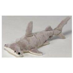 "cutest stuffed animal shark   Rakuten.com - 16"" Hammerhead Shark Plush Stuffed Animal Toy"