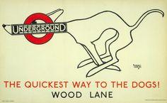 Londra, un poster nel metrò