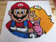 1000 images about b gelperlen super mario on pinterest perler beads mario kart and mario. Black Bedroom Furniture Sets. Home Design Ideas