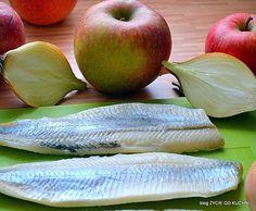 ŻYCIE OD KUCHNI: ŚLEDZIE W MUSZTARDOWYM SOSIE Honeydew, Apple, Fruit, Food, Pies, Diet, Essen, Apple Fruit, Meals