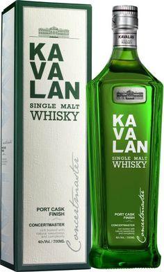 Kavalan Concertmaster Single Malt Whisky $950