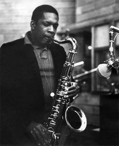 John Coltrane with a Selmer Paris Mark VI Tenor Sax. http://Promusicianslist.com