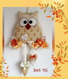Gufetto Good luck by Laura Tosi https://www.facebook.com/fattoconamorelaura #cucitocreativo #creativemamy #handmade #owl #lovehandmade #goodluck