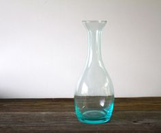 Vintage Glass Carafe by vntagequeen on Etsy, $24.00