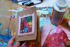 Ardith's Art Journal: Never Buy Another Card Ever!
