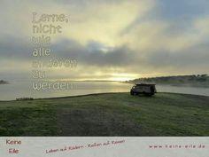 Lerne, nicht wie alle anderen zu sein. www.keine-eile.de