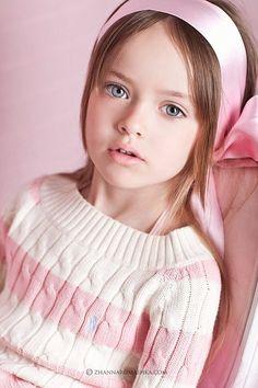 child model kristina pimenova .