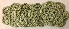 Coasters Set Of 4 Crocheted Doilies  Sage Green