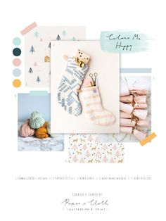 paperandcloth: Colour Me Happy Christmas! Christmas Colour Schemes, Christmas Trends, Christmas Mood, Christmas Colors, Christmas Design, Kids Branding, Branding Design, Palettes Color, Web Design