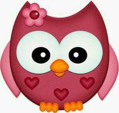 Silhouette Design Store - View Design valentine owl w flower pnc Owl Clip Art, Owl Art, Silhouette Online Store, Owl Crafts, Cute Clipart, Cute Owl, Cute Images, Punch Art, Silhouette Design