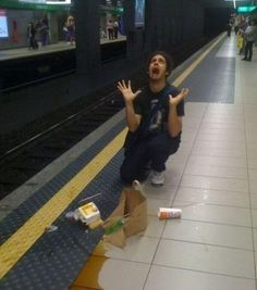 dropping food on the floor