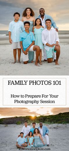 You just paid for a family photography session, so you want to make sure that you make the most out of it. Here are some of our top tips for a successful photography session. Sunset Family Photos, Family Photos What To Wear, Family Beach Portraits, Family Portrait Poses, Family Beach Pictures, Family Posing, Beach Photos, Florida Pictures, Family Pictures