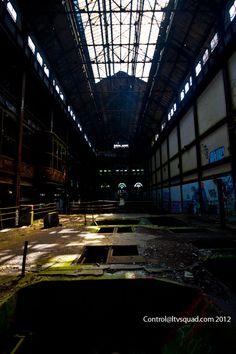 Turbine hall. Glenwood power plant, NYC.