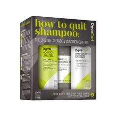 The Original Cleanse & Condition Curl Kit