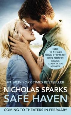 Just finished the book. not your typical nicholas sparks book. Safe Haven — Nicholas Sparks Safe Haven 2013, Safe Haven Book, Book Safe, Great Movies, Great Books, New Movies, Big Books, Awesome Movies, Amazing Books